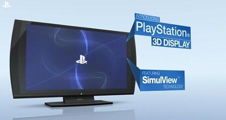 PSブランド3D立体視対応ディスプレイ